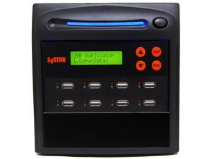 Systor 1 to 7 USB Thumb Drive Duplicator / Multi Flash Memory USB Card Stick Drive Copier