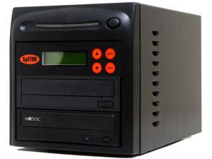 Systor 1 Burner M-Disc Support 24X CD/DVD Duplicator w / USB Connection