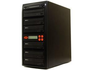 Systor 5 Burner M-Disc Support 24X CD/DVD Duplicator