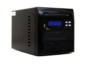Systor 1 to 1 CD DVD Duplicator + USB / SD / CF Flash Memory Card Drive to DVD Backup Copier Tower