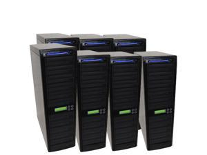 70 Target SATA Daisy Chain 24X Burner DVD CD Duplicator w/500GB HD and USB Connection