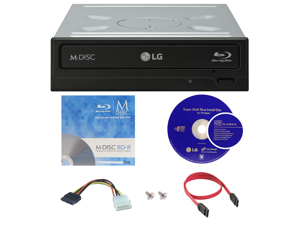 CD DVD Blu-Ray Burners & Media