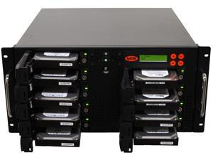 Systor Rackmount High Speed 1:8 Hard Drive Duplicator Eraser HDD/SSD Sanitizer (150MB/sec)