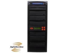 6 Burner LightScribe SATA 24X CD/DVD Duplicator w/ 500GB HDD & SMART USB Connection