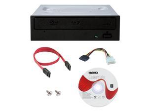 Pioneer BDR-209DBK 16X M-Disc Blu-ray CD DVD Internal Burner Writer Drive + Nero Software Disc + Cables & Mounting Screws