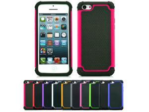 New Hybrid Tough Dual layer Shockproof & Scratch Resistant Case For Apple iPhone 5C