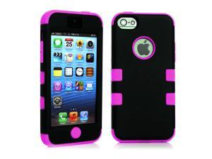 New Shock Scratch Proof Hybrid Rugged Rubber Combo Matte Hard Case Cover for iPhone 5C C