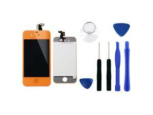 Color LCD Screen Conversion + Digitzer Assembly with Tools For Apple iPhone 4 GSM