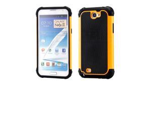 New Heavy Duty Rugged Hybrid Back Cover Hard Case For Samsung Galaxy Note 2 N7105