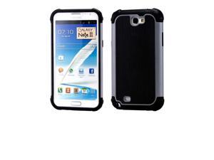 New Heavy Duty Rugged Hybrid Back Cover Hard Case For Samsung Galaxy Note 2 N7109