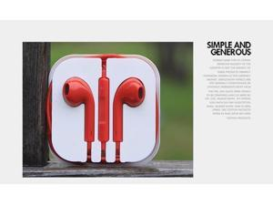 Earphone earbud earpiece Headset remote Mic for  iPhone 6 5 5S 5C 4 4S 3G iPad mini iPod