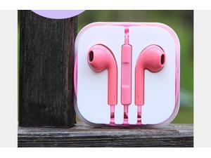 Earphone earbud Headset  remote volume control for Apple iPhone 6 5 5S 5C 4 4S 3G perfect sound