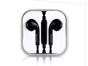 Good quality earphone earbud headphone 3.5MM jack remote with mic universal for all smart phones PC MP3 MP4