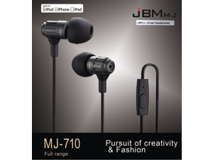 2015 JBMmj710 metal in-ear style music mega bass The voice of truth which is high fidelity reduction headphones for Android apple drive-by-wire's  earbuds