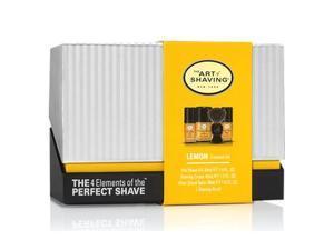 The Art Of Shaving Mid-Size Lemon Kit