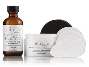 Miracle Worker Anti-Aging Retinoid Pads and Solution - 2 Pc Kit 2oz Miraculous Anti-Aging Retinoid Solution, 60 Pads Miraculous Anti-Aging Retinoid