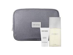 Issey Miyake Leau Dissey Pour Homme Gift Set - edt-sg-travel Pouch