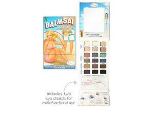Thebalm Balmsai Eyeshadow And Brow Palette With Shaping Stencils