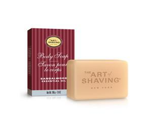 The Art Of Shaving Body Soap With Sandalwood Essential Oil