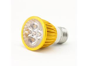 SuperNight  Plant Grow Hydroponic Lighting Power Saving Indoor LED Bulb Lamp Light 5W E27 Spotlight 5leds (3 Red LED + 2 Blue LED) -Golden