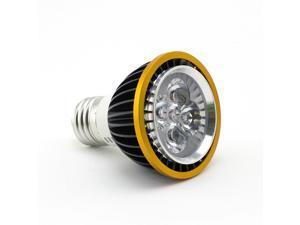 SuperNight Plant Grow Hydroponic Lighting Power Saving Indoor LED Bulb Lamp Light 5W E27 Spotlight 5leds (3 Red LED + 2 Blue LED) -Black