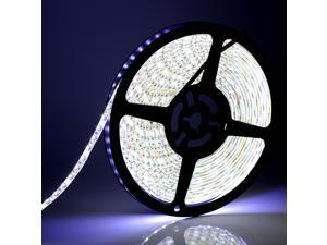 SUPERNIGHT 5M SMD 600 LED 3528 Light Strip Bright Lamp Cool White IP65 Waterproof 120 LEDs Per Meter Decorate