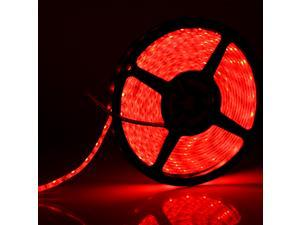 SuperNight® Red Color 3528 5M 16FT SMD 300 LEDs Light Strip Lights IP65 Waterproof Bright Lamp