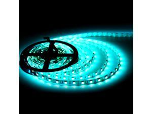 SuperNight® 5050 5M 16.4ft RGB Light Strip 300 LEDs 60 LEDs/m Non-waterproof Lamp + 44 IR Remote Controller +12V 5A Power Supply Adapter