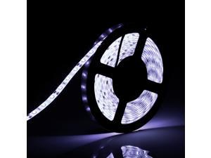 SUPERNIGHT 5M 16.4ft 5630 300Led SMD Cool White Flexible LED Light Strip waterproof Lamp Outdoor