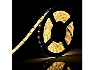 SUPERNIGHT 5M 16.4ft 5630 300Led SMD Warm White Flexible Light Strip LED Light waterproof Outdoor/Indoor 60 led/m