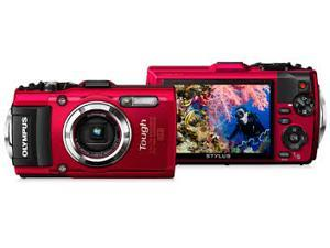 Olympus Stylus TG-3 Digital Camera 16MP (Red)