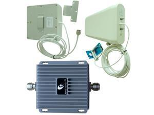 Cell Phone Signal Booster Repeater 65dB Amp. 850/1900MHz with High Gain Antennas