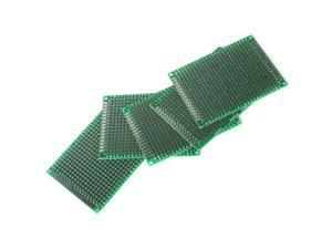 Universal 5Pcs Double Side 5x7 cm Prototype FR-4 Glass Fiber PCB Panel Board