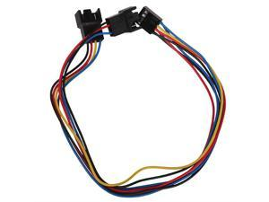 30cm PC Motherboard Fan Cooling 4 Pin to 2x 4pin/3pin PWM Extension Cable New