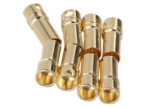 50 Pairs 3.5mm Gold Plated Banana Connector with Strong Current-carrying