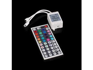 44 Keys 6A  IR Remote Controller Receiver for 5050 3528SMD RGB LED Strip Light