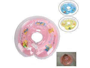 New Inflatable Baby Infant Bath Swimming Neck Float Ring Pool Bathtub Safety Aid