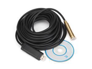 Waterproof 10m Cable Mini USB Endoscope Camera Inspection Camera Borescope 4 LED