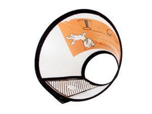 Dog E-Collar Cotton Flannel Edge Elizabethan Wound Healing Cone Safe For Pet