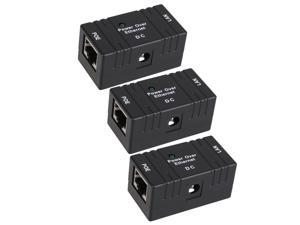 3 x 5 - 48V 1A RJ45 Connector POE Power Supply Module for AP IP Camera IP Phone