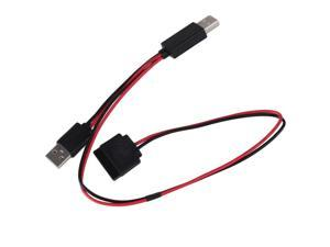 """USB 2.0 to SATA 15pin Connector Powered Cable For 2.5"""""""" Inch Hard Disk Drive SATA"""