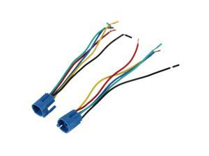 2 x Socket Plug for 19mm Switch ON/OFF and Momentary Buttons 5Pin Wire Harness