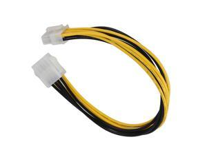 11.8 inches Plug Type 8 Pin Female to Male Computer CPU Power Extension Cord