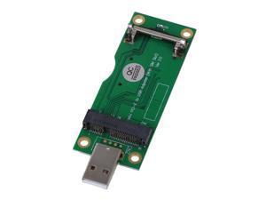 BQLZR Mini PCI-E to USB Adapter with SIM 8 Pin Card Slot for 4G WLAN HSPA Module