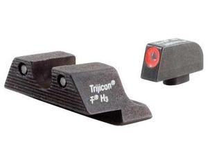 Trijicon GL101O HD Night Sight Set w/ Orange Front Outline for Glock Pistols