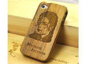 Euroge Tech 100% Natural Heavy Bamboo Case for iPhone 4/4S Jackson