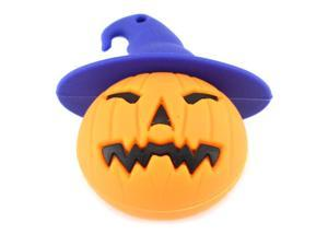 64GB Wicked Halloween Pumpkin USB Flash Drive (Orange)