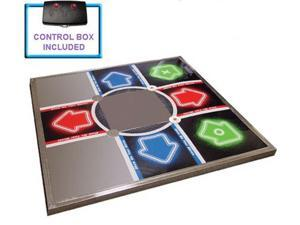 PS3 PS2 PS1 Tournament Metal Dance Pad Dance Revolution DDR V3