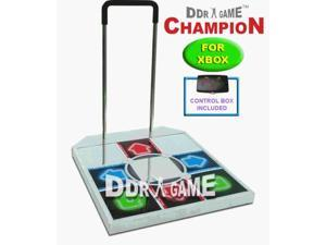 DDR Tournament Metal Dance Pad for PS/PS2
