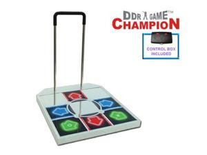 Dance Dance Revolution Champion Arcade Metal Dance Pad with Handle Bar for PS/PS2